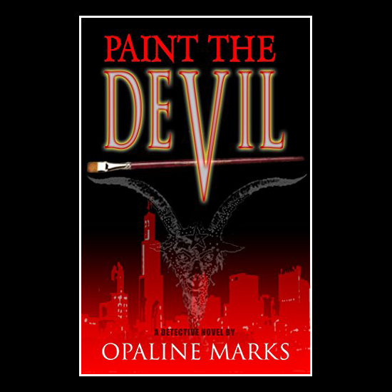 Book cover for Paint the Devil by Pete Markiewicz