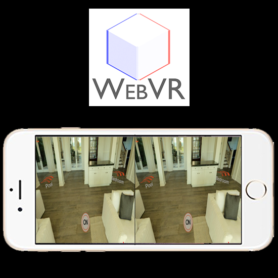 image showing Rex Legend3d WebVR app on iPhone