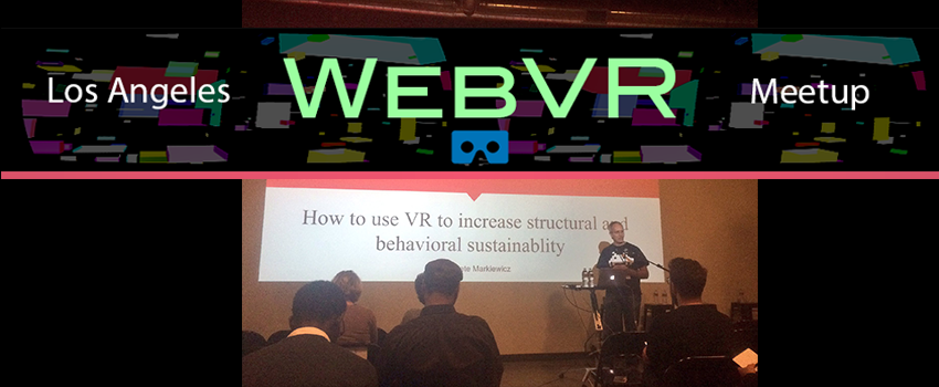 Pete Markiewicz Seminar on sustainable Ux in VR at UXPALA